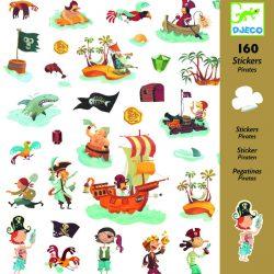 160 stickers autocollants pirates
