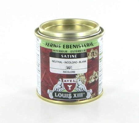 Vernis bois ébénisterie LOUIS XIII incolore satin 250 ml