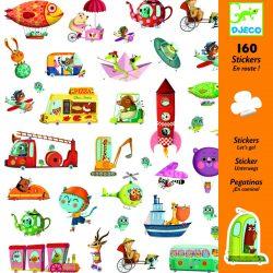 160 stickers autocollants en route !